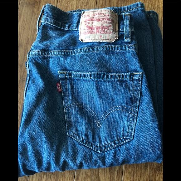 566055ac0c290 Levi s Jeans   Mens 550 Levis   Poshmark